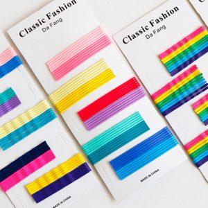 Rainbow Candy Color Hair Clip Hairpin