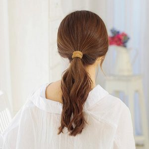 Simply Hair Ties Ponytail Holders 10Pcs