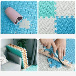 30*30cm Extra Thick Interlocking Foam Floor Block One Pack(16Pcs)