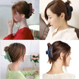 Strong Hold Thick Hair Nonslip Plastic Hair Claw Clips