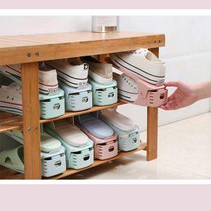 Adjustable Shoe Slots Organizer 3PCS
