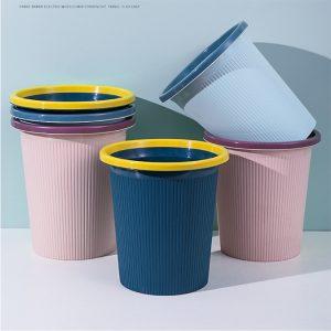Plastic Trash Can Wastebasket