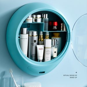 Dustproof & Waterproof Wall-mounted Cosmetic Organizer Storage Box
