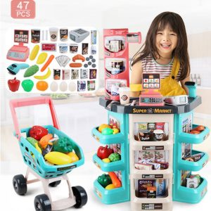 Interactive Learning Home Super market Kids Playset