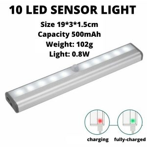 USB LED Sensor Bar Light