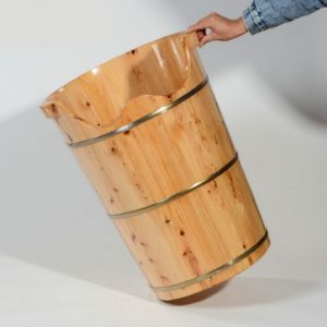 Cedar Wood Foot Spa Bucket