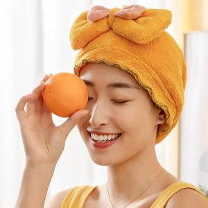 Water Absorbent Hair Drying Cap