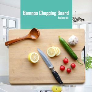Bamboo Kitchen Chopping Board with Handles