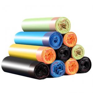 Drawstring Black Bin Bags Pack of 2 Rolls