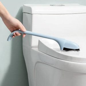 Toilet Cleaning Brush Duo Design Blue Colour