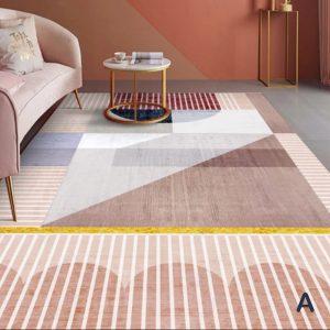 Geometric Pattern Rectangular Area Rug 200cm*300cm