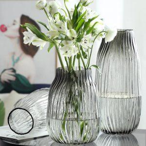Water Wave Round Flower Vase