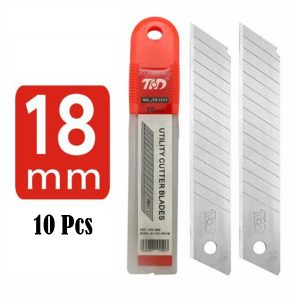Box Cutter Snap Off Replacement Blades 10 Pack