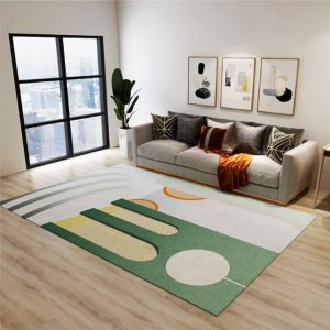 INS Style Abstract Pattern Carpet