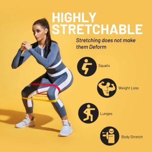 Resistance Bands – Natural Latex Fitness Workout Bands